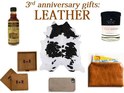 Leather Gifts For Third Anniversary   Gift Ftempo
