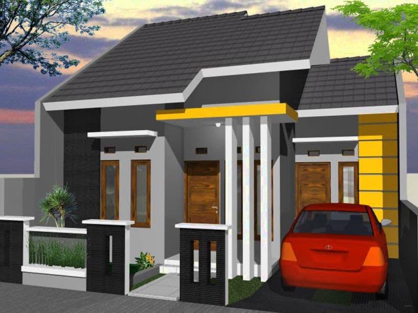 Desain Rumah Modern Minimalis 1 Lantai Ukuran 6x12 - Jual ...