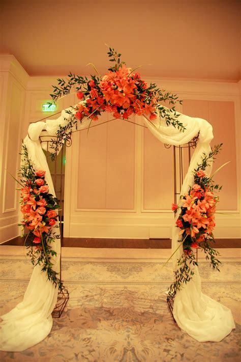 Wedding Arch St. Regis Hotel   www.anikdesigns.com   Anik
