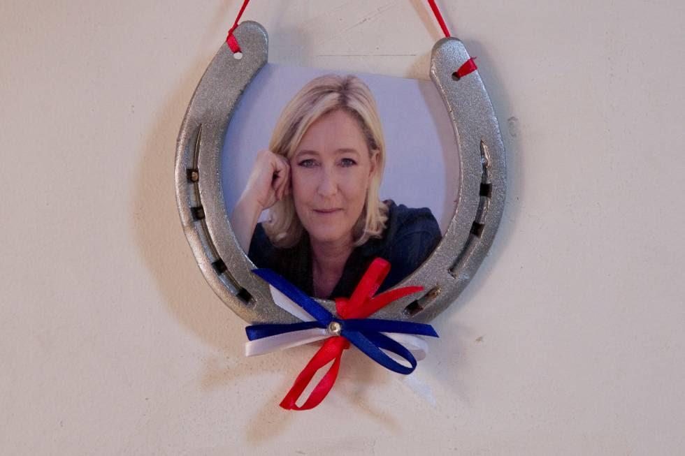 Marine Le Pen, candidata del Frente Nacional en las próximas elecciones presidenciales francesas.