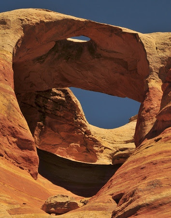 Hole in the Bridge Arch, Rattlesnake Canyon
