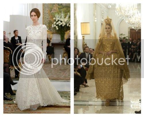 Dolce & Gabbana Alta Moda Couture Spring/Summer 2013