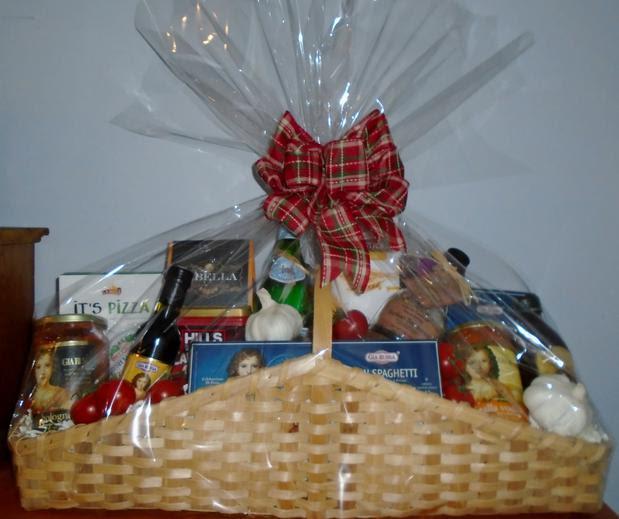 Italian Dinner Gift Basket By Ogoodies