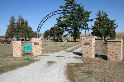 Lake City Cemetery Central entrance