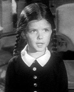 Lisa Loring as Wednesday in The Addams Family ...