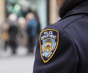 Policía de Nueva York. Foto: Archivo.