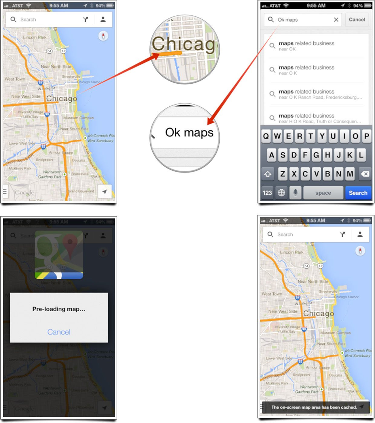How To Cache Maps For Offline Use In Google Maps 2 0 For