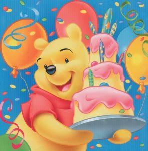 Imagenes de cumpleaños de Winnie Pooh