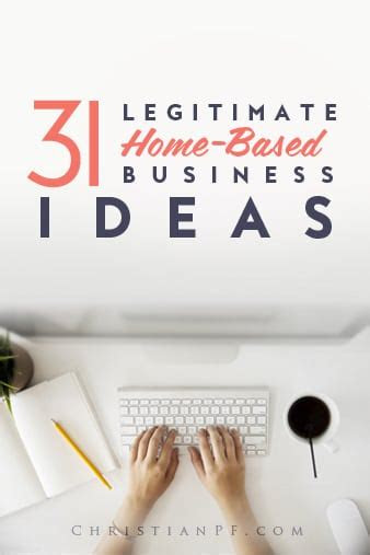 legitimate home based business ideas
