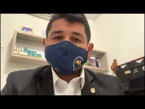 Em vídeo Delegado Dr. Diego concede entrevista exclusiva sobre os assassinatos de Geovane e Lenir.