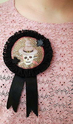CUSTOMISABLE Stitch Witches Rosette
