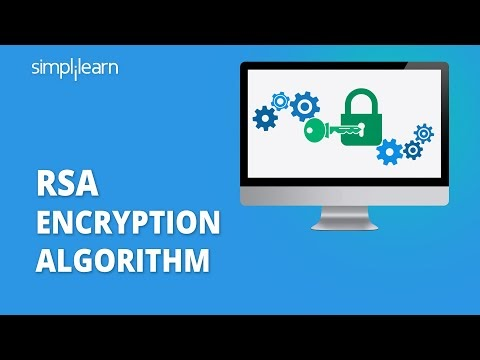 RSA Encryption Algorithm | Rivest–Shamir–Adleman | RSA Algorithm Explained | Simplilearn