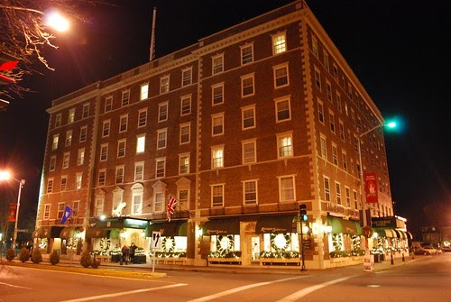The Hawthorne Hotel S Quot Haunted Quot Room 612 An Outside View