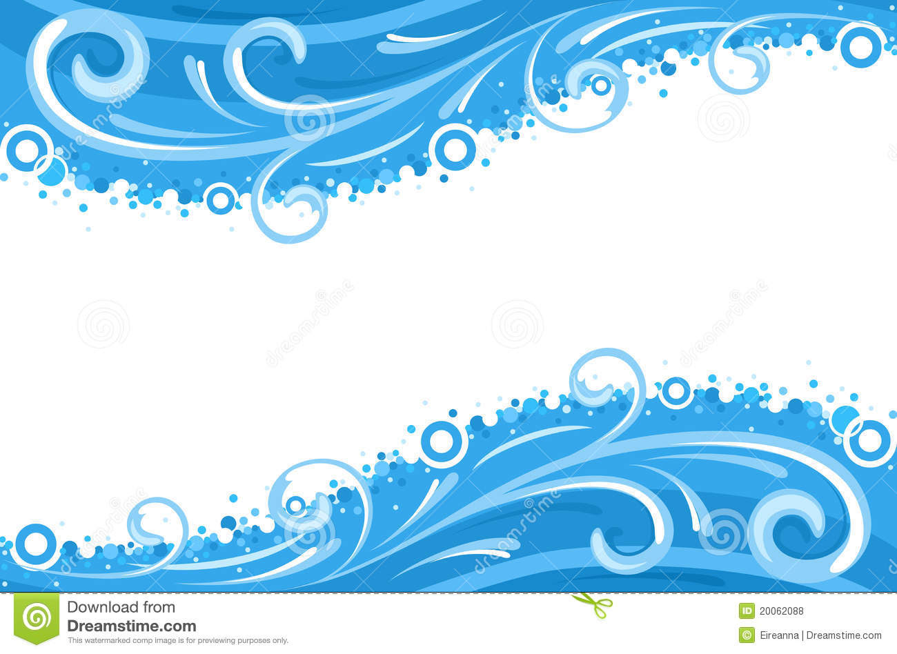 Water Wallpaper Borders