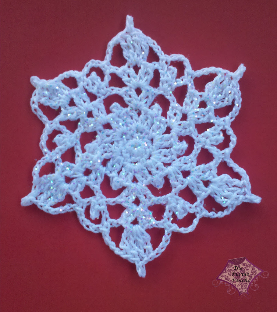 Snowflake Crochet Patterns FREE-Christmas crochet patterns-free crochet patterns- Crocheted snowflake