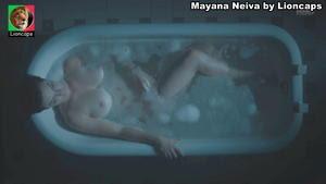 Mayana Neiva nua na serie O Hipnotizador