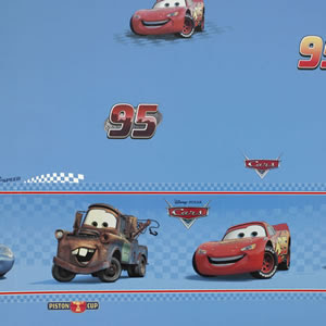 Disney Pixar Cars Wallpaper Border 12feet Peel Stickebay World