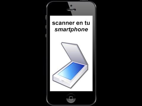 Escanea Documentos con  tu Smartphone Android 2018