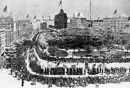 தொழிலாளர் பேரணி 1882