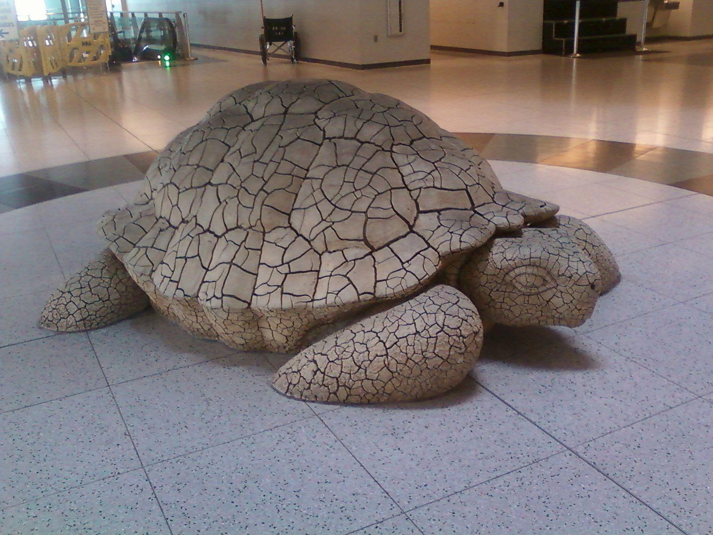Turtle Sculpture, @ LV Airport