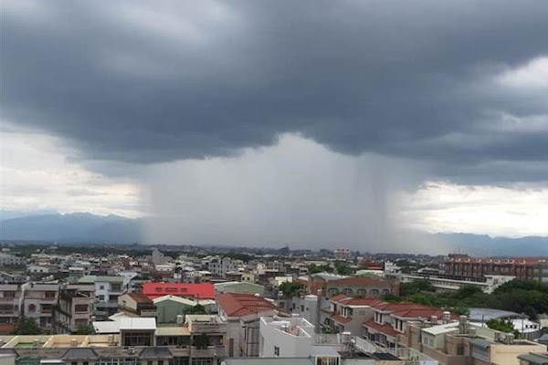 Resultado de imagen para (VIDEO) Extraño fenómeno en Taiwán: Diluvio cae solo en un área de Chiayi