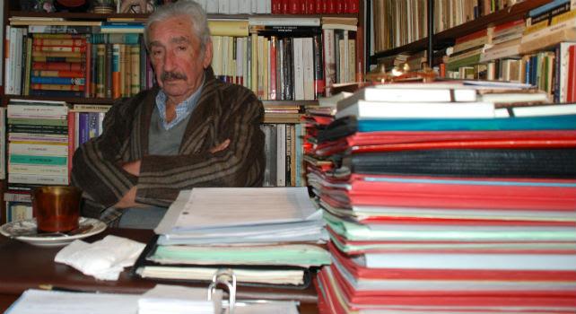 El intelectual, exmiembro de la comité central del PCE, Antonio López Salinas. A.T.