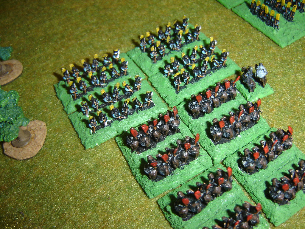 Takeda cavalry charge Oda Ashigaru