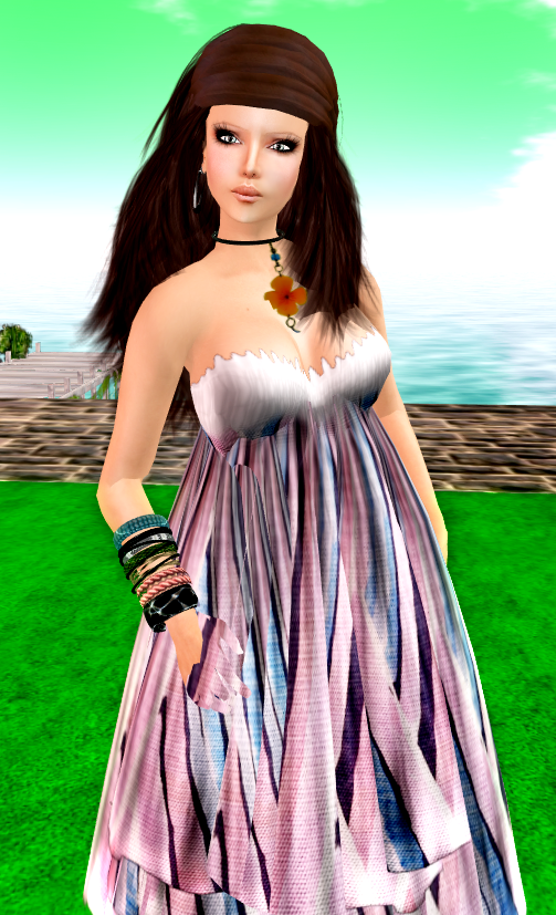 ::HH:: Hucci Beach Diva (White Multi)