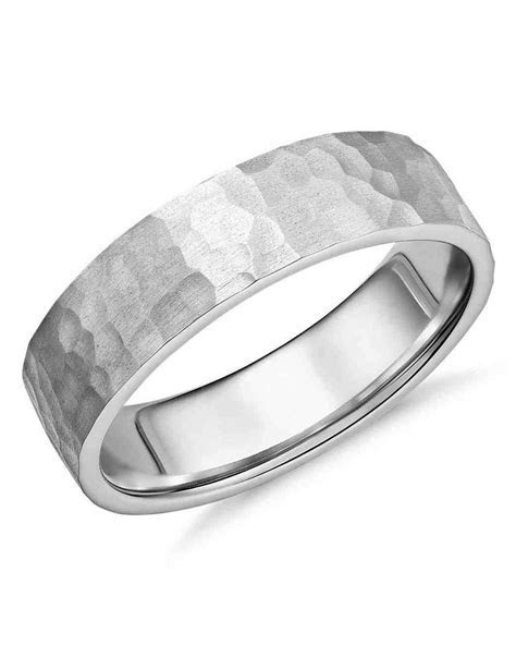 10 Unique Men's Wedding Bands   Martha Stewart Weddings