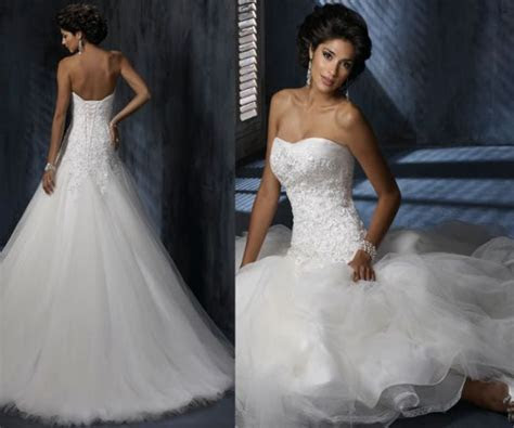 Maggie Sottero NORA Size 3 Wedding Dress ? OnceWed.com