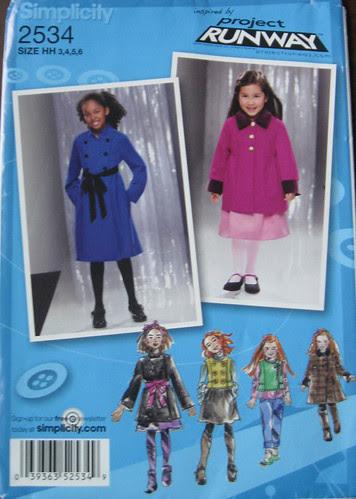 S coat pattern