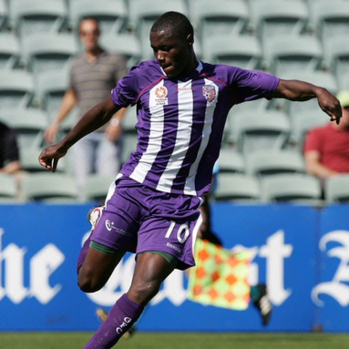 Ex-Perth Glory player Million Butshiire jailed for insurance fraud over false Congo fall claims