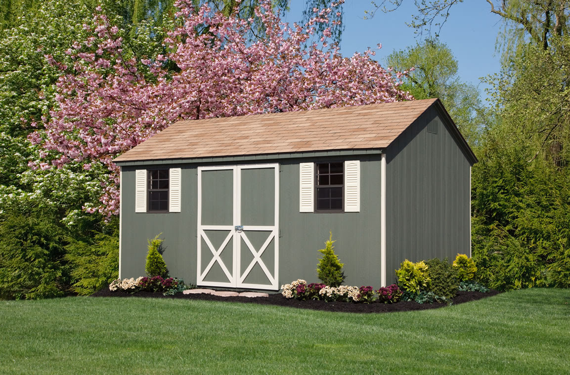 A Frame Barns Garages And Gardener Workshops Made By Amish In