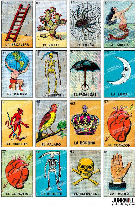 Free Printable Mexican Loteria Cards | My Blog