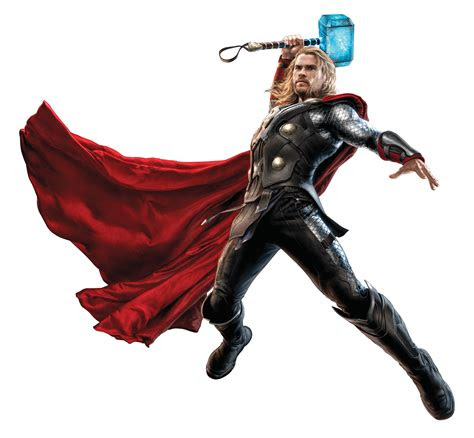 thor fighting   hammer png image purepng