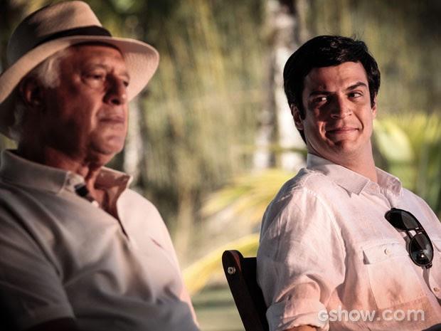 César declarou seu amor a Félix (Foto: Pedro Curi/TV Globo)