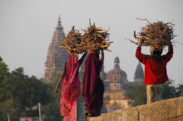orchha en Inde