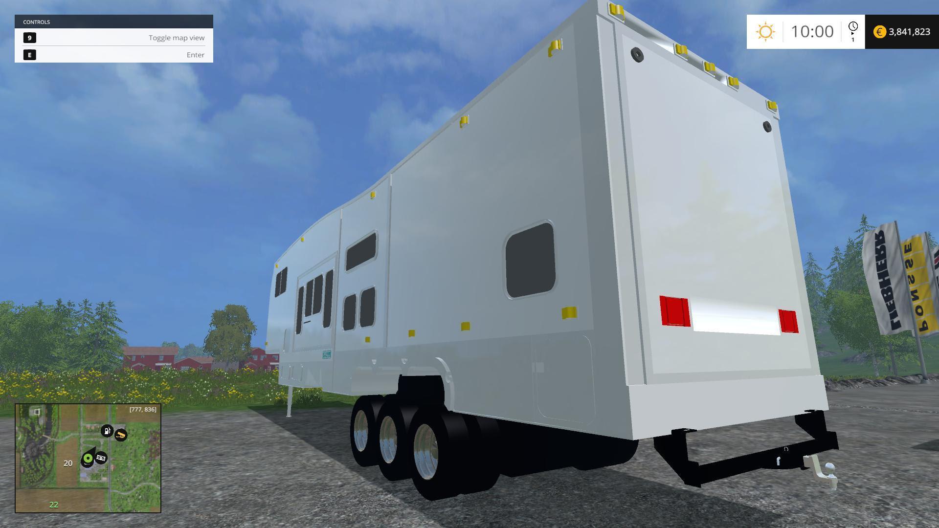 Lifted 5th Wheel Toyhauler  Farming Simulator