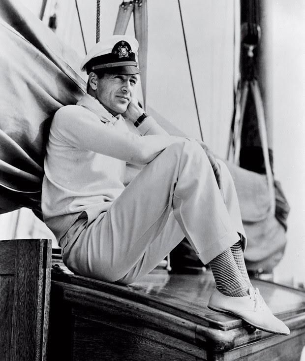 Marujo: Gary Cooper, à época das gravações de 'Agora e Sempre' (Foto: Divulgação)