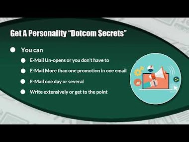 "Email Marketing - Lesson One: Get A Personality ""Dotcom Secrets"""