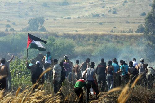 border-syria-demonstration