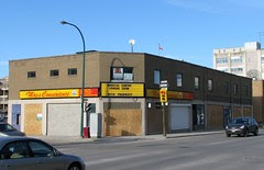 Former Manitoba Furniture Building