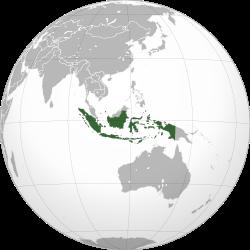 Vị trí của Indonesia