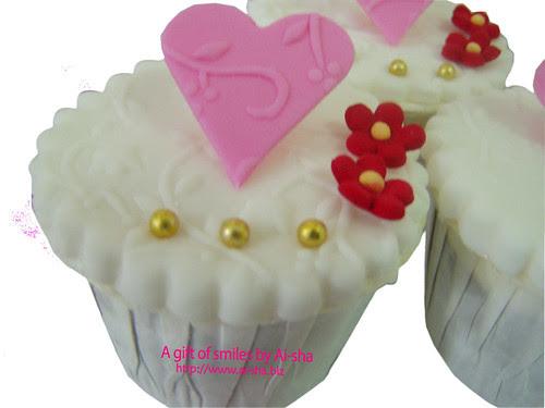 Fondant Cupcake Pink
