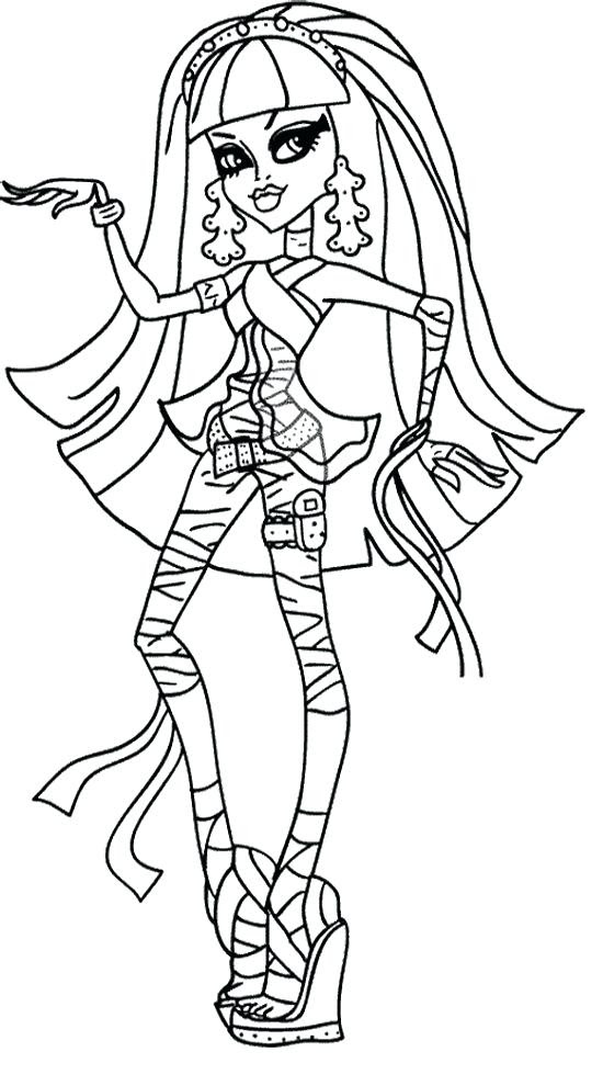 Monster High Drawing Games At Getdrawingscom Free For Personal