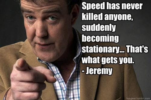 Jeremy Clarkson On Speed Funny Pictures Quotes Pics Photos