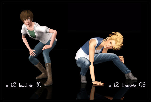 Low Down - Poses 09-10