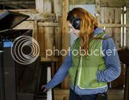 Neko Case at the piano