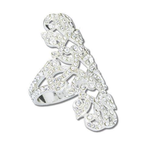 Hematite Engagement Napkin Ring
