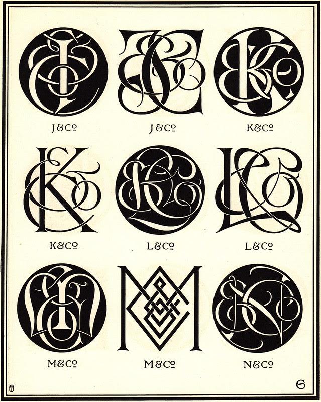 Monograms & Ciphers by AA Turbayne 1912 n